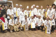Die Teilnehmer des Iba-UIBC-Cups, bei dem das japanische Team gewonnen hat.