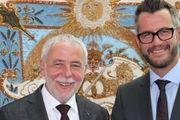 Sie führen den Zentralverband ab sofort an: Michael Wippler (links) und Daniel Schneider.