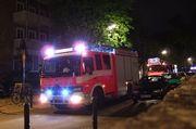 Die alarmierte Feuerwehr musste bei der versuchten Brandstiftung nicht eingreifen.