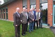 Von links: Geschäftsführer Heinz Essel unter anderem mit Karl-Heinz Wohlgemuth, Thomas Müller aus Mecklenburg-Vorpommern und dem BKV-Nord-Vorsitzenden Holger Rathjen.