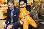 Starten gemeinsam die Kampagne: Jaap Schalken (links) und Sulaiman Masomi.