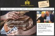 """Die Homepage www.innungsbaecker.de unterstützt die Imagekampage des Zentralverbandes """"Deutsche Innungsbäcker""""."""