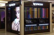 Nespresso Cube ist eine automatische Kaffeebar, ein Konzept, das die Boutiquen des Unternehmens ergänzen soll.