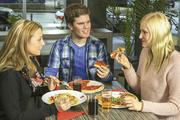 Pizza ist bis jetzt noch das Hauptgeschäft von Joey's, könnte aber bald noch erweitert werden.