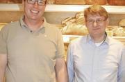Engagiertes Führungsduo: OM Karl Gräf (links) und Stellvertreter Rainer Hieronymus.
