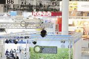In der B6 als der größten Messehalle der Internorga präsentieren sich Firmen für die Backbranche.