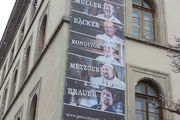 Werbung fürs Handwerk mit Fassadenbanner.
