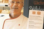 """""""Geehrte Kunden, wir runden"""" lautet die klare Ansage in den Bäckerei-Filialen von Senior-Chef Gerd Derks. Noch mehr setzt der 76-Jährige allerdings auf bargeldloses Zahlen."""