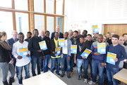 Insgesamt 17 Flüchtlinge aus fünf verschiedenen Herkunftsländern werden in Bäckereien in der Region um Ravensburg ausgebildet.