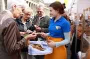 Besucher des Stuttgarter Brotmarkts können vor allem eines - probieren.