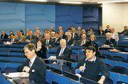 Mit großer Aufmerksamkeit verfolgten etwa 150 Tagungsteilnehmer die Vortragsreihe. Im Anschluss an die Referate bot sich die Gelegenheit zur Diskussion.