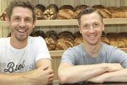 """""""Ausnahme""""-Bäcker Sebastian Däuwel (links) hat sich zusammen mit seinem Teamkollegen und Bäckermeister Daniel Petruccelli in kurzer Zeit einen Namen gemacht."""