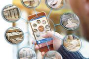 Das Smartphone als Schaltzentrale vernetzter Produktionsabläufe.