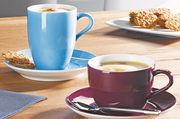 Modern und trotzdem zeitlos: Das Geschirr für Heißgetränke, Gebäcke und Snacks soll verschiedene Zielgruppen ansprechen und für ganzheitlichen Genuss des Servierten sorgen.