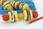 Statt Süßigkeiten ansprechende Snacks für Kids: Es muss nicht immer das belegte Brötchen sein.