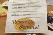 """""""Herr Remmel – so geht's nicht!"""" - die Brötchentüten der """"Remmel-Semmel"""""""