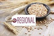 Produkte, die mit Zutaten aus der Region hergestellt werden, sind bei Kunden beliebt.