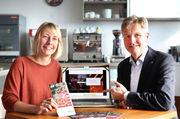 """Linda Niepagenkemper und Prof. Dr. Guido Ritter haben mit einem Forschungsteam das Projekt """"LAV - Lebensmittel Abfall Vermeiden"""" entwickelt."""