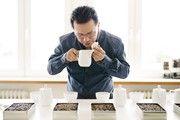 Kaffeeverkostung bei Hochland