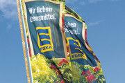 Edeka zeigt Flagge: Wünsche-Angestellte müssten sich laut Unternehmen nicht um Arbeitsplätze sorgen.