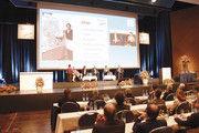 Über die Facetten der Digitalisierung diskutierten Lola Güldenberg (von links), Josef Anton Hartmayer, Nina Bold, Moderator Marcus Höffer, Petra Kunz und Bernd Kütscher.