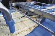 Auf einer Feingebäcklinie kann – je nach eingesetzten Modulen – ein sehr vielfältiges Sortiment rationell aufgearbeitet werden.