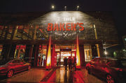 Unübersehbar: Ihle Baker's in Augsburg.