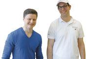Wertvolle Erfahrungen im Ausland gemacht: Julian Schöllkopf (links) und Bäckermeister Tobias Pfaff