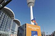 Branchentreff in Hamburg: das Messegelände am Fernsehturm.