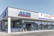 In neu gestalteten Märkten von Aldi Nord liegt der Schwerpunkt auf Frischeprodukten wie Backwaren.