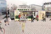 Am Kölner Mediapark soll das erste Aldi-Bistro stehen.