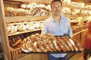 Steven Vetter produziert Brezeln nur auf Bestellung. Täglich gebacken werden Laugenringe.