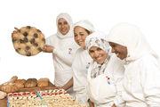 In der Bäckerei in Casablanca sind verwitwete oder junge, ungewollt schwangere Frauen im Einsatz, die häufig von ihren Familien verstoßen werden.