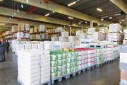Warenlager der Bäko-Zentrale Süddeutschland in Ladenburg.