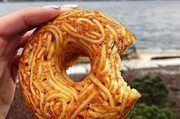 Klein und handlich: Der neue Spaghetti-Donut.