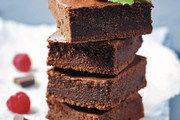 Brownie als Fingerfood: Kleiner, süßer Snack auf die Hand.