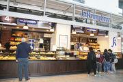 Die neue Filiale der Bäckerei Krimphove im Hauptbahnhof von Münster.