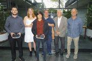 Innungsbeste (von links): Bäcker Erwin Scheifel, die Fachverkäuferinnen Sandy Krohlas und Andreina Emontis sowie Verkäufer Jonny Oertel.