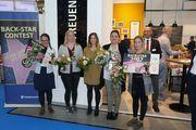 Preisträgerinnen unter sich (vl.l.): Charlotte Almus, Hannah Hoffmann, Linda Joste, Viktoria Nagli und Santa Stalnionyte.