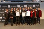 Alle zusammen: Sieger, Sponsoren und ABZ-Vertreter nach der Preisverleihung.