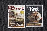 Links die Neuauflage des Magazins, das sich nicht nur im Format von der früheren Ausgabe unterscheidet.
