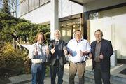 Die oberfränkischen Obermeister lassen sich nicht unterkriegen: Udo Feiler (v.l.), Ralf Groß, Mathias Söllner und Gerhard Löffler.