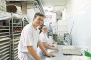Cornelia Hüttl und Alexander Bichler waren für ein Auslandspraktikum vier Wochen in einer Bio-Bäckerei in Sevilla.