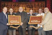 Propst Martin Tenge (v.l.), LIM Dietmar Baalk und Uwe Becker.
