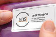 Neue Prüfzeichen für vegane und vegetarische Lebensmittel.