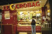 Heißgetränke und Backwaren sind das Geschäft von Le Crobag.