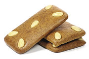 Feuchtere Lebkuchensorten haben produktionsbedingt niedrigere Werte als relativ harte Erzeugnisse.