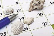 Die Urlaubsplanung muss mit Chef und Kollegen abgesprochen werden.
