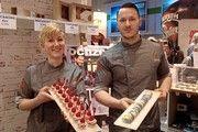 Tigertörtchen: Cupcakes und Macarons in der Berlin-Halle.
