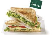 Das Bio-Sandwich-Toast als Basis für Snacks.